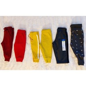 6 Baby joggers and sweatpants